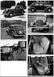 vauxhall car 1940 vauxhall hiy hix i u0026 j 10hp 12hp u0026 14hp 1946 to 1948