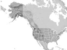us state map with alaska best projection for us state map