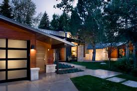 splendid mid century modern house architecture design feat two