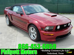 2007 ford mustang california special 2007 redfire metallic ford mustang gt cs california special