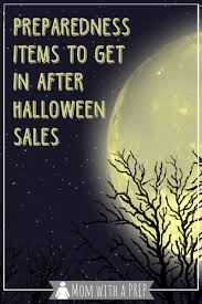 Halloween Sales Preparedness Items To Get In Post Halloween Sales Mom With A Prep