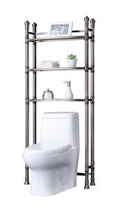 Over The Toilet Shelving Bathroom Home Depot Bathroom Shelves Metal Over The Toilet