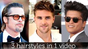Which Hairstyle Suits Me Men by 3 Hairstyles In 1 Haircut Awesome Hair Inspiration For Men By