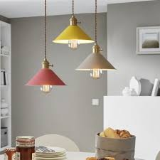 Yellow Pendant Light Vintage Pendant Light With Coolie Shade In Blue Grey Brown White