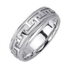 wedding ring depot 14k white gold key unique band 6 5mm 3000091 shop at