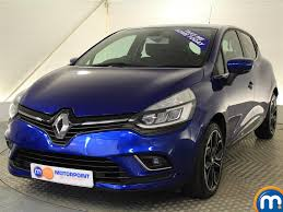 clio renault 2016 used renault clio blue for sale motors co uk