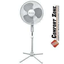 Comfort Zone Heater Fan Heartland America Comfort Zone Pedestal Fan