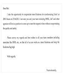 appreciation letter templates 5 free sle exle format