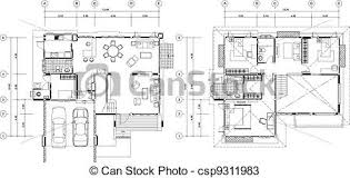 house plan drawings house plan house plan vectors search clip illustration