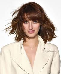 length haircuts for fine hair and round face