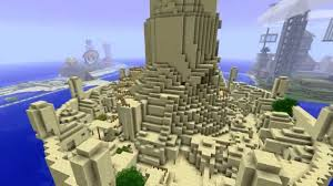 Avatar The Last Airbender Map Omashu In Minecraft Timelapse From Avatar The Last Airbender