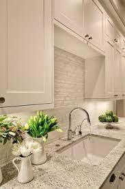 The Most Exciting Kitchen Backsplash Designs For You White Tile - White kitchen with white backsplash