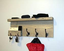 entryway organizer coat rack mail storage coat hooks and key