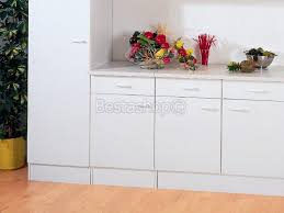 meubles de cuisine bas meuble cuisine bas 2 portes 100cm selena pas cher
