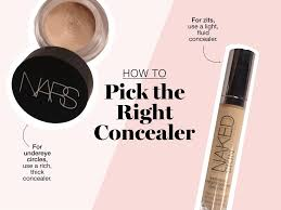 how to apply concealer the right way glamour