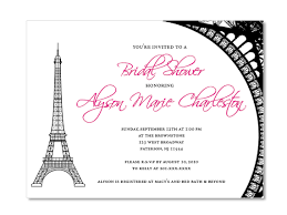 eiffel tower invitations eiffel tower theme custom invitations great invitation ideas