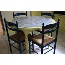 achat table cuisine table cuisine ronde bois et carrelage achat et vente destiné table