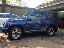 chevy tracker convertible geo tracker paint job classic cars and tools