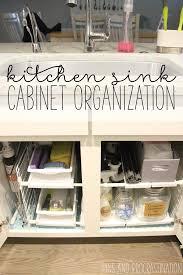 Under The Kitchen Sink Organization by Kitchen Sink Cabinet Organization Pins And Procrastination