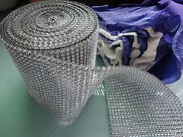 mesh ribbon wholesale discount rhinestone mesh wrap 2018 diamond mesh wrap roll