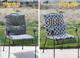Patio Chairs With Cushions How To Make An Indoor Outdoor Cushion Patio Chair Cushions