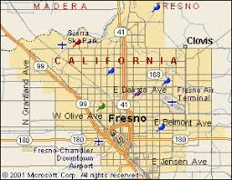 map of fresno fresno city map images california map cities town pictures