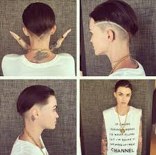 how to get ruby rose haircut this new ruby rose hairstyle is a fresh take on the buzzcut