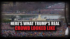 this should settle all the rumors u2013 here u0027s what trump u0027s real crowd