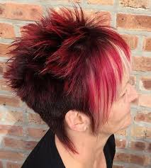short cut tri color hair hair style fashion