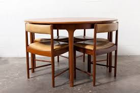 Round Teak Table And Chairs Danish Teak Round Dining Table With 4 Frem Rojle Style Chairs