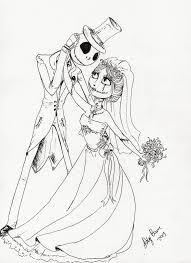 jack and sally coloring pages jack and sally pinterest sally