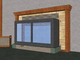 how to install glass fireplace doors how to make a fireplace more energy efficient 4 steps