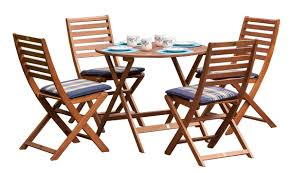 royalcraft torino 4 seater round folding dining set amazon co uk
