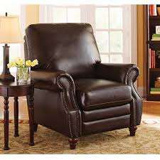 better homes and gardens nailhead leather recliner multiple
