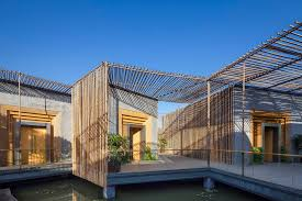 Bamboo Home Design Pictures by Comfortable Bamboo Courtyard House Keribrownhomes