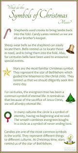 what do the symbols of christmas mean christmas eve 2017 day