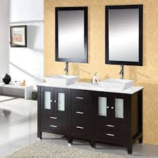 60 Inch Double Sink Bathroom Vanities by Virtu Usa Md 4305 S Es Bradford 60 Inch Bathroom Vanity With