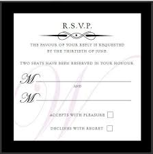 Our Wording Templates Madhurash Rsvp Wording Template Made With Love Wording For Rsvp Cards