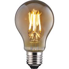 what is an e27 light bulb led filament classic 6w e27 vintage light bulb at homebase co uk