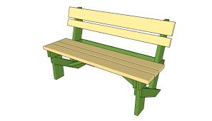 garden bench plans gardening ideas