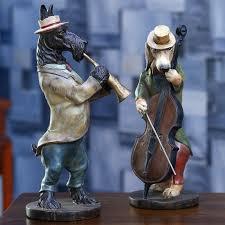 jazz band simulation animal articles ancient creative resin