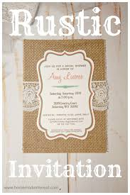 Rustic Invitations Rustic Invitation Home Made Interest