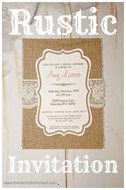 Rustic Invitations Rustic Invitation Home Made Interest