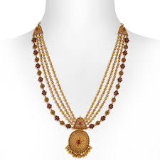 necklace trendy images Gold necklace trendy mohan mala gold necklace set jpg