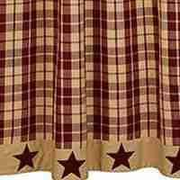 Burgandy Shower Curtain Shower Curtains Allysons Place