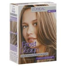 highlights vs frosting of hair l oreal paris frost design h65 caramel dramatic hi precision