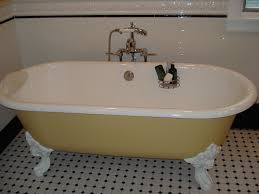 Bathroom Laminate Tile Flooring Bathroom Antique Clawfoot Tubs With Waterstone Faucets And Merola