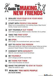 I Need New Friends Meme - the guide to making new friends by pikaruto4752 meme center