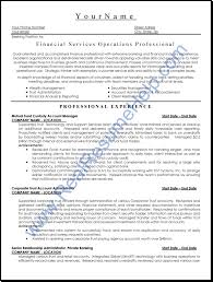 Account Manager Sample Resume Sample Resume For Manager Operations