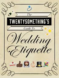 wedding gift one year rule wedding etiquette every grown should